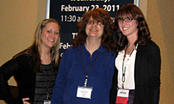 AAFS 2011 students with faculty member