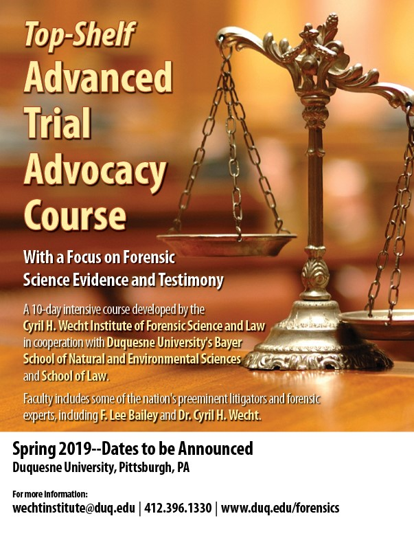 Trial Advocacy Course