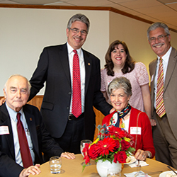 President Gormley and donors attend the 2018 Spring Duquesne Society Event