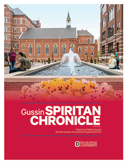 Cover image of the 2015-2016 Spiritan Chronicle