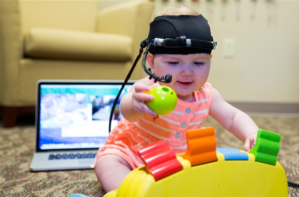 Eye tracker used to study infant attention