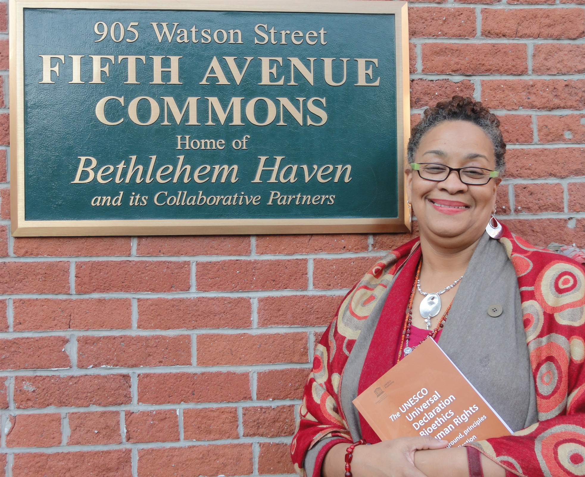 Sharon at the Sign of Bethlehem Haven