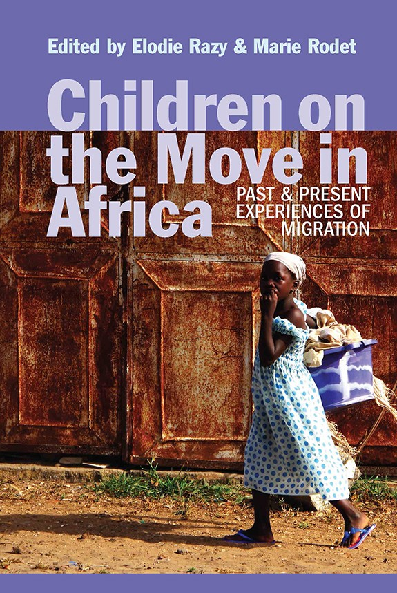 Cover image of Children on the Move in Africa: Past and Present Experiences of Migration, a collection in which Dr. Robin Chapdelaine's work is featured