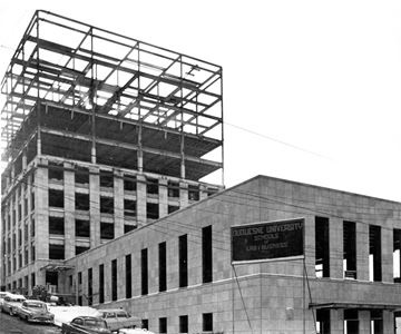 Rockwell Hall construction