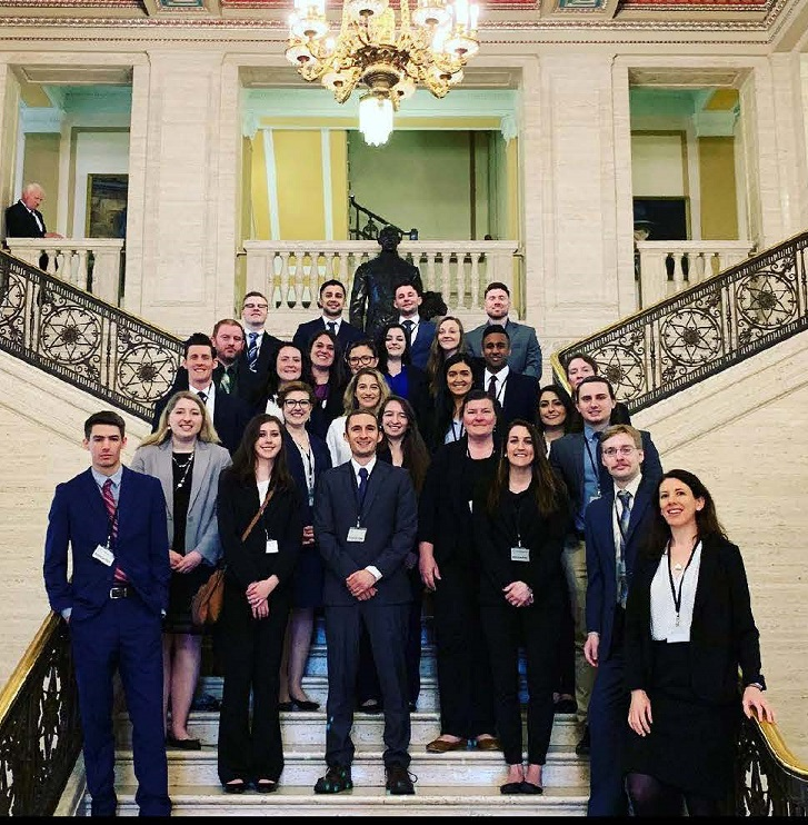 Students in Ireland during study abroad