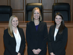 Photo of Appellate Advocacy Team 1