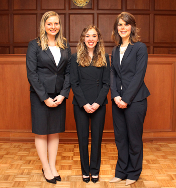 Photo of ABA National Appellate Advocacy Team 1