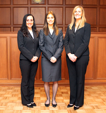 Photo of ABA National Appellate Advocacy Team 2