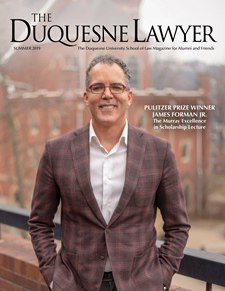 The Duquesne Lawyer Summer Issue Cover