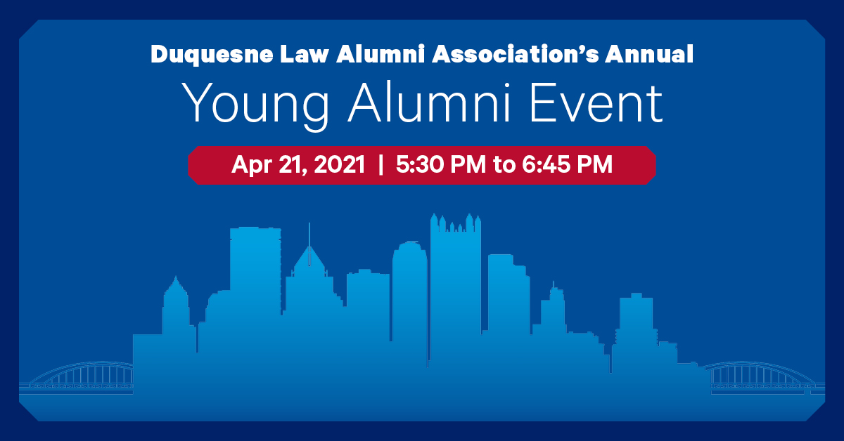 Young Alumni Event Graphic