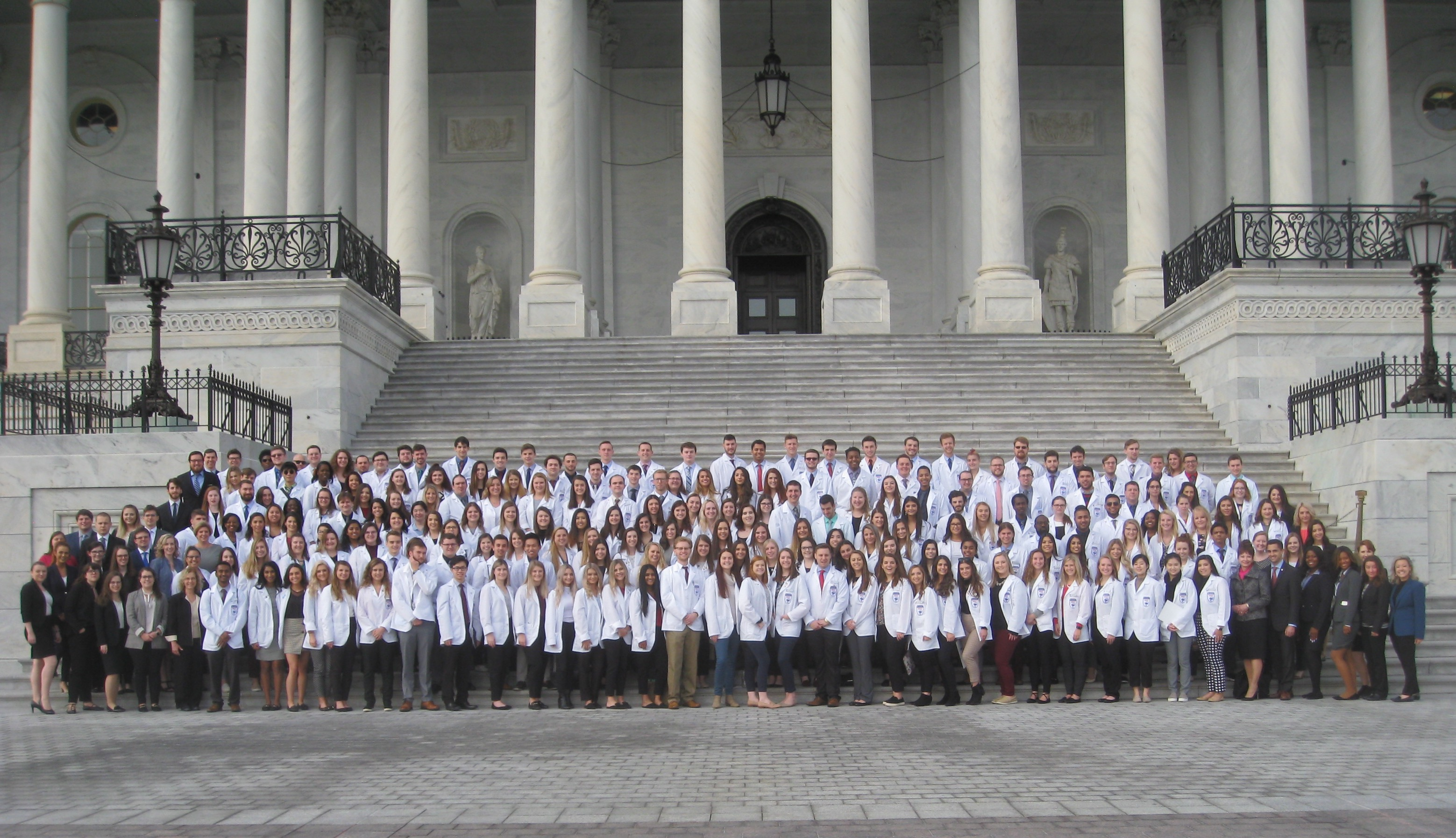 School of Pharmacy and School of Law on Capitol Hill
