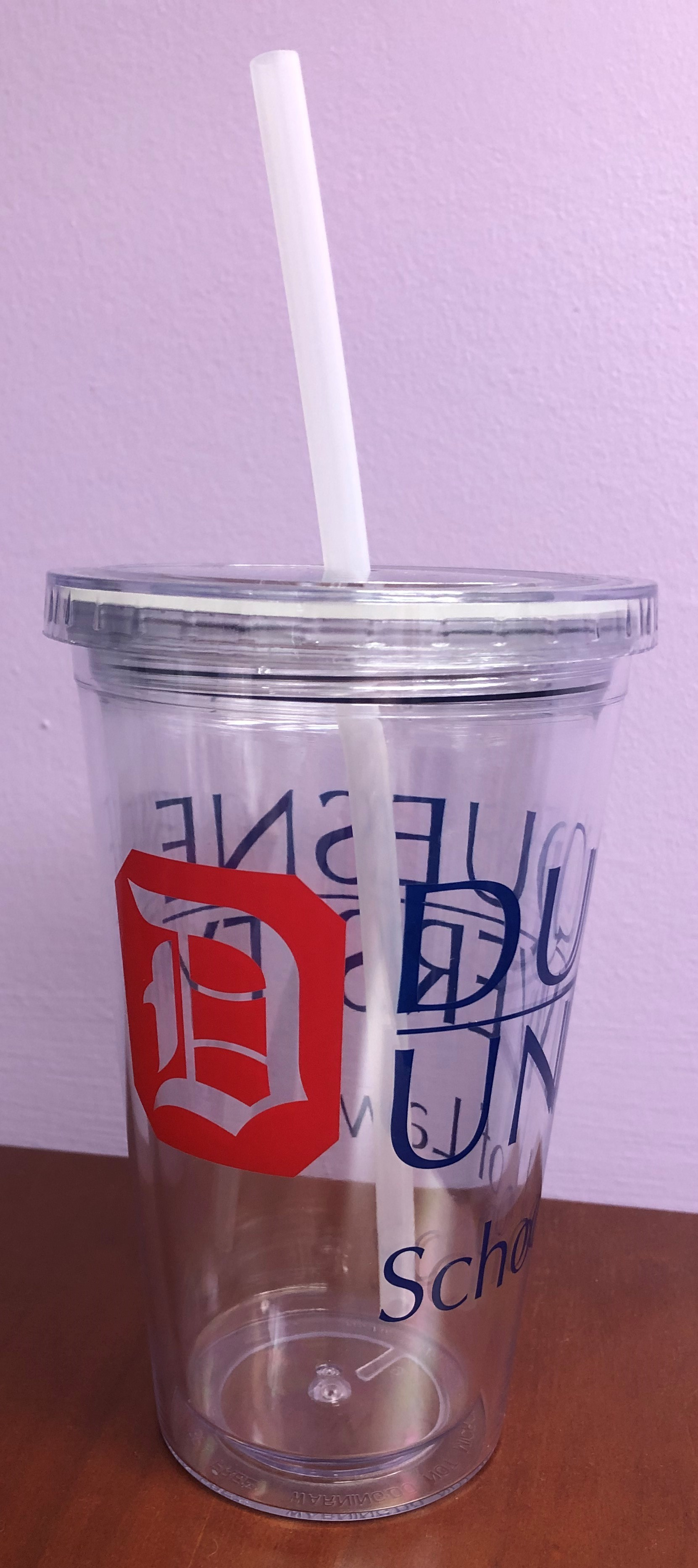 photo of the straw cup