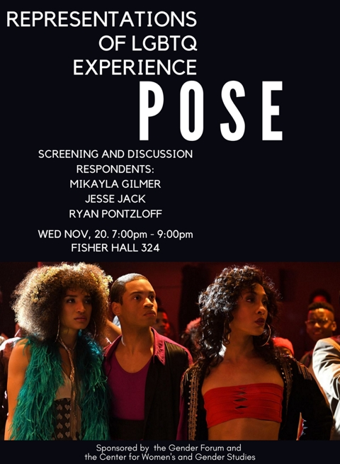 POSE event poster