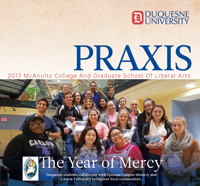 Cover of 2016 Praxis magazine