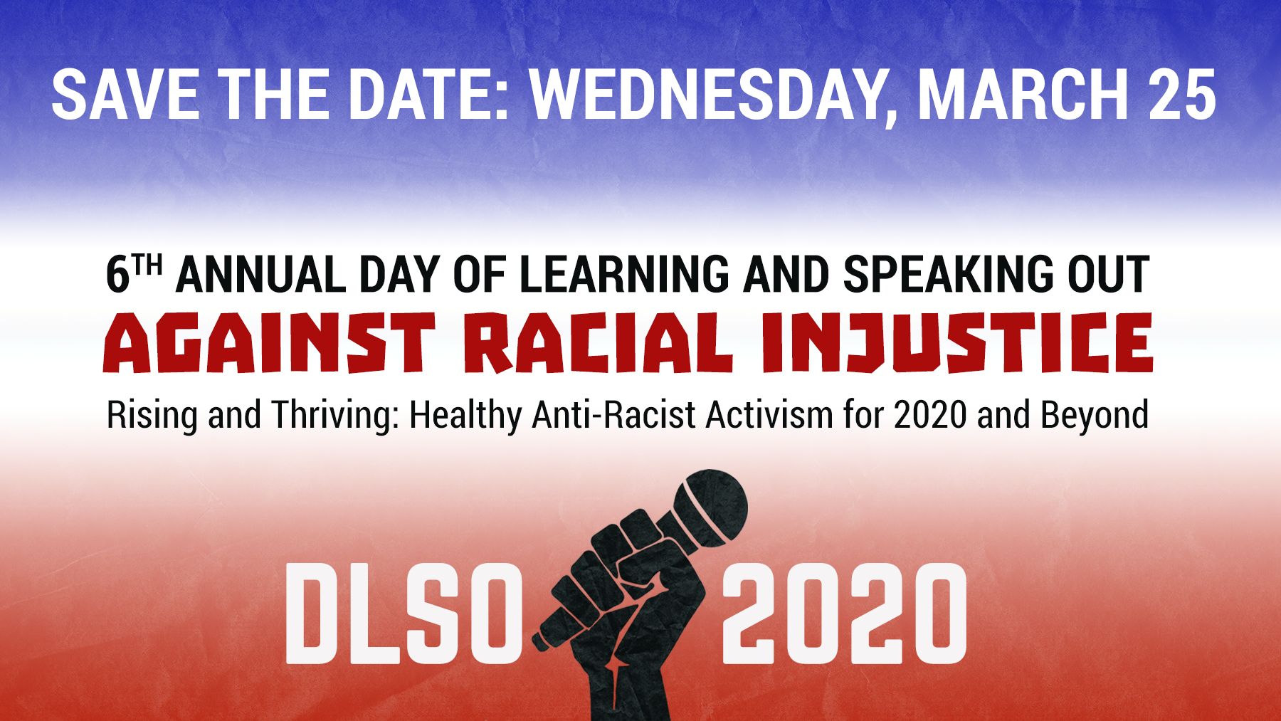 Save-the-Date image for DLSO 2020