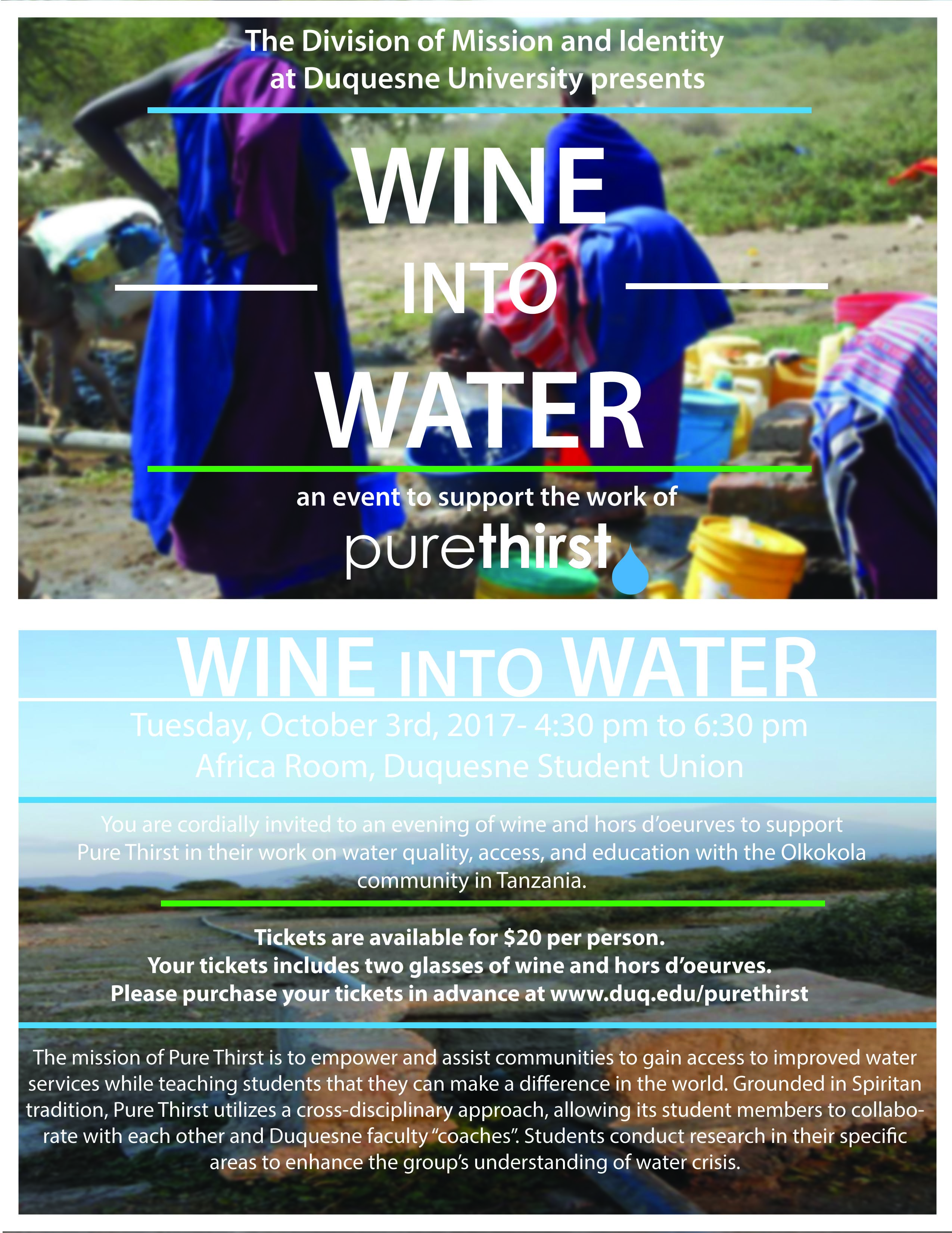 Wine into Water poster