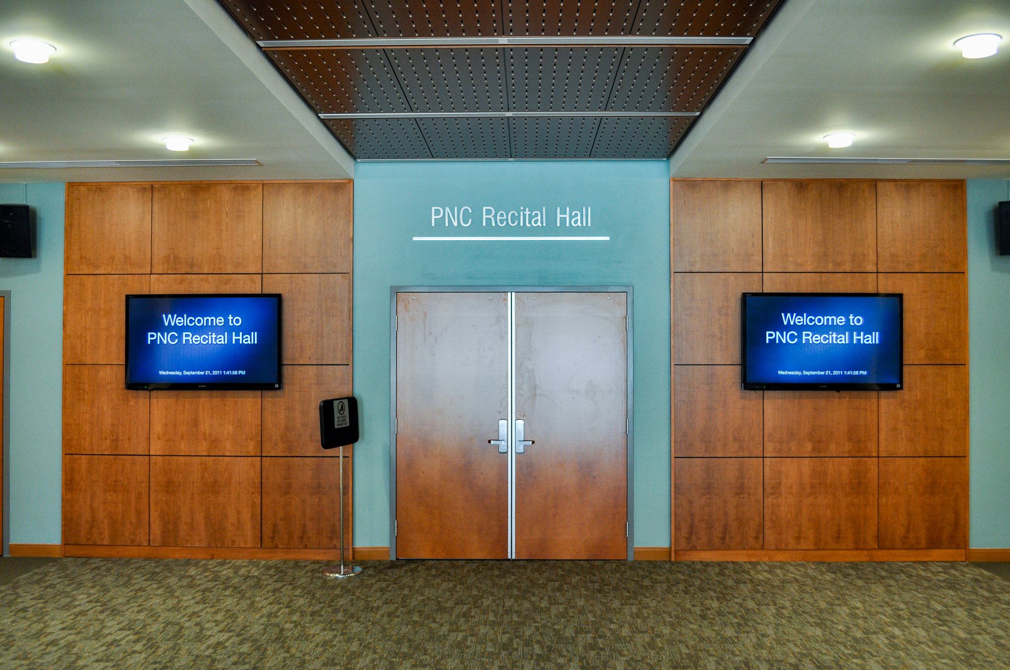 pnc recital hall lobby