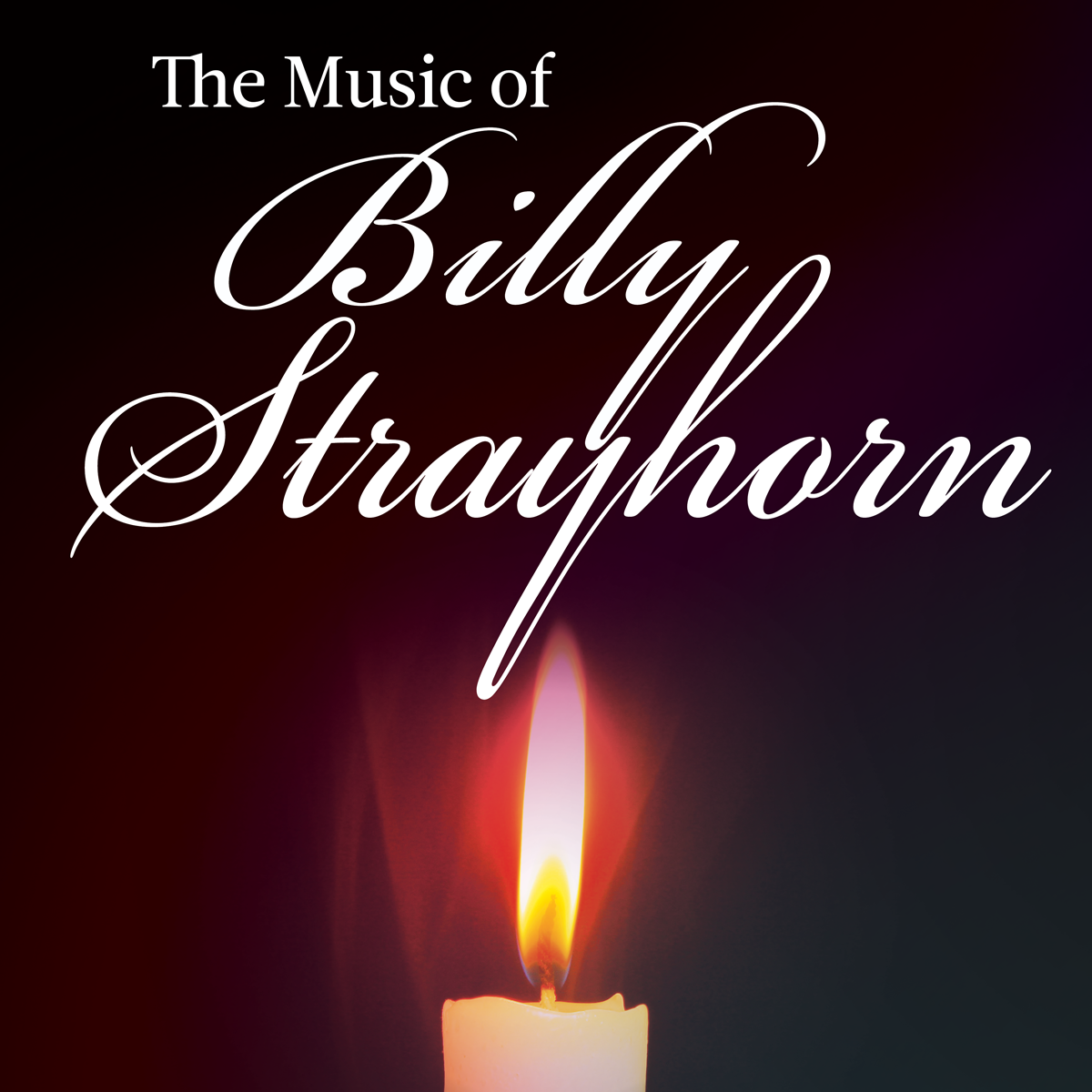 The Music of Billy Strayhorn image with candle.