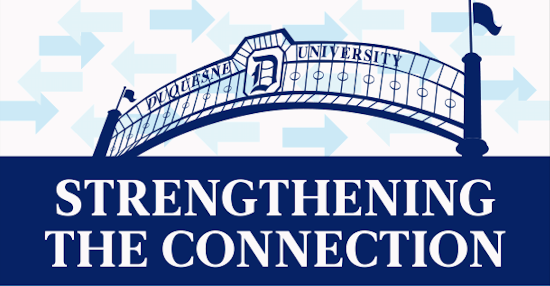 graphic image of Duquesne archway