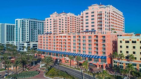 Photo of the Hyatte Clearwater Beach