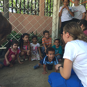 Photo of Nursing students in Nicaragua