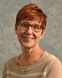 Faculty headshot of Dr. Rebecca Kronk