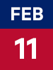 Graphic of February 11