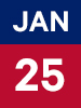 Graphic of January 25