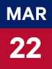 Graphic of March 22