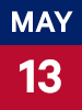 Graphic of May 13