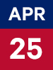 Graphic of April 25th