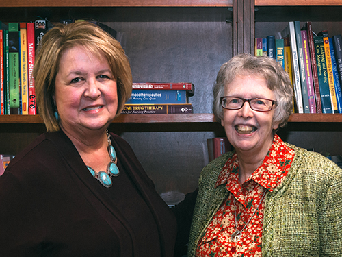 Photo of Dr. Joan Lockhart and Sr. Rosemary Donley