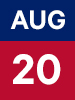 Graphic of August 20