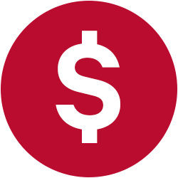 icon of dollar sign