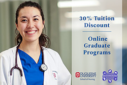 30% Tuition Discount promo with Transcultural Nursing Society