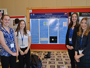 Photo of the Biomedical Engineering: Duquesne Award for Excellence in Biomedical Engineering winning poster