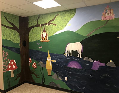 Photo of finished mural