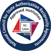 Image indicating that Duquesne University is an Approved Institution of State Authorization Reciprocity Agreements (SARA)
