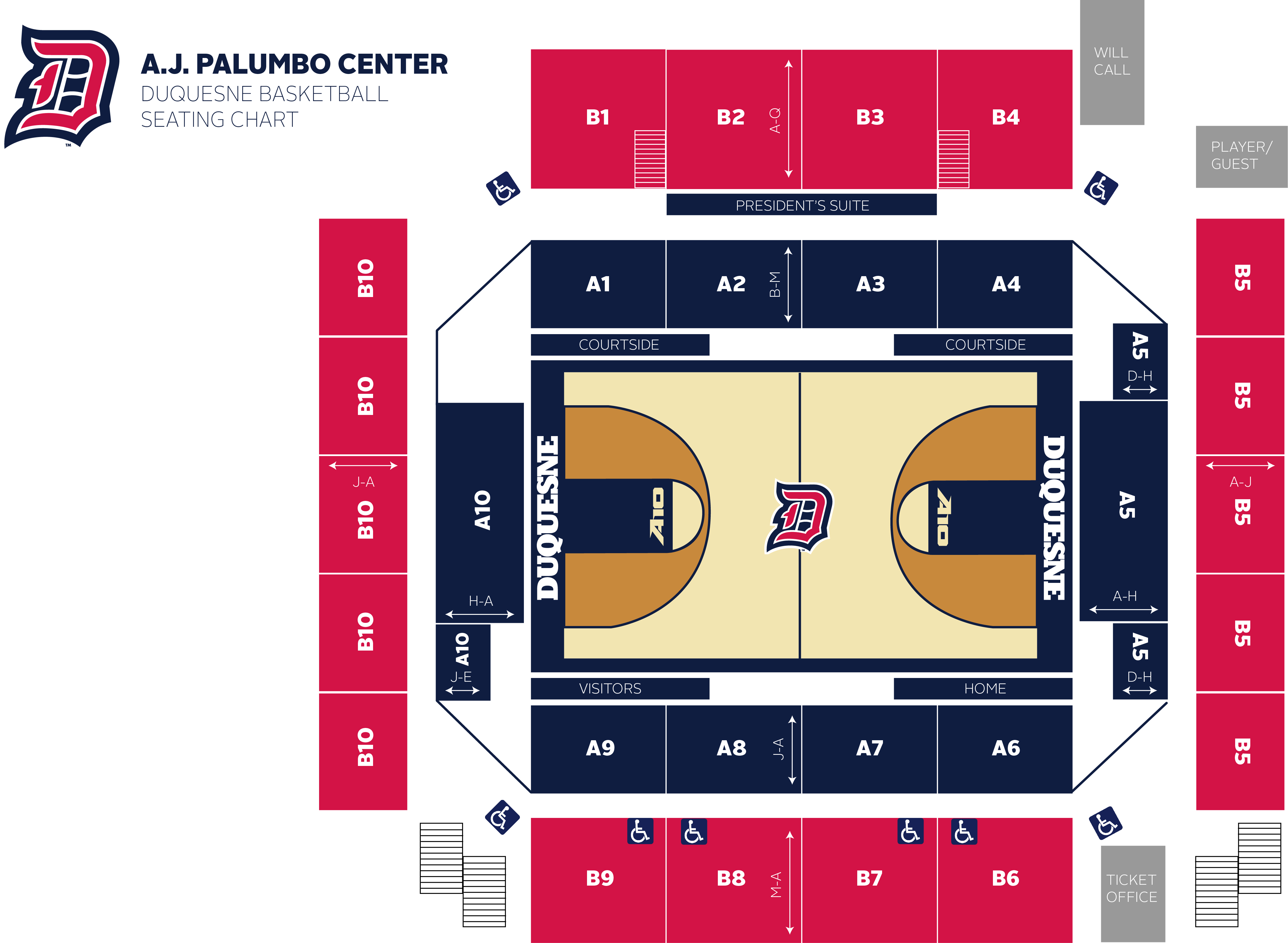 Palumbo Center Seating Chart