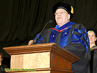 Bricker At Commencement
