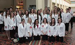 Students from the Duquesne University Mylan School of Pharmacy at Legislative Day 2016 in Harrisburg.