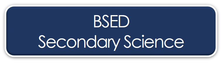 BSED Secondary Science