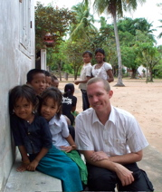 Mark Morrison as a rehabilitation advisor in Cambodia