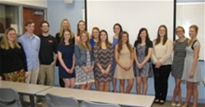 PSI CHI Induction Ceremony spring 2015