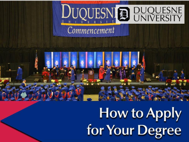 How To Apply For Your Degree