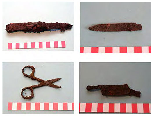 Photo of Sobibor Artifacts