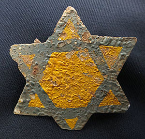 Photo of a star artifact