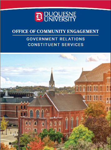 Government Relations Constituent Services guide cover