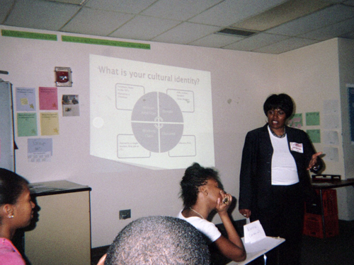 Culturally relevant pedagogy is introduced to students interested in teaching in urban settings.