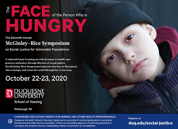 11th Annual McGinley-Rice Symposium Face of the Hungry image